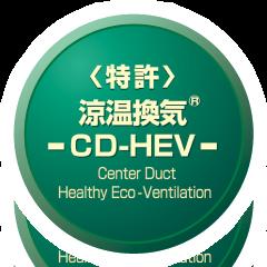 <特許>涼温換気 -CD-HEV-